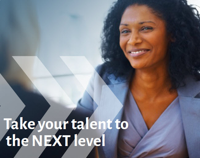 IMAGE from services brochure - Take Your Talent to Next Level