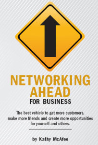 Networking Ahead for Business - cover design