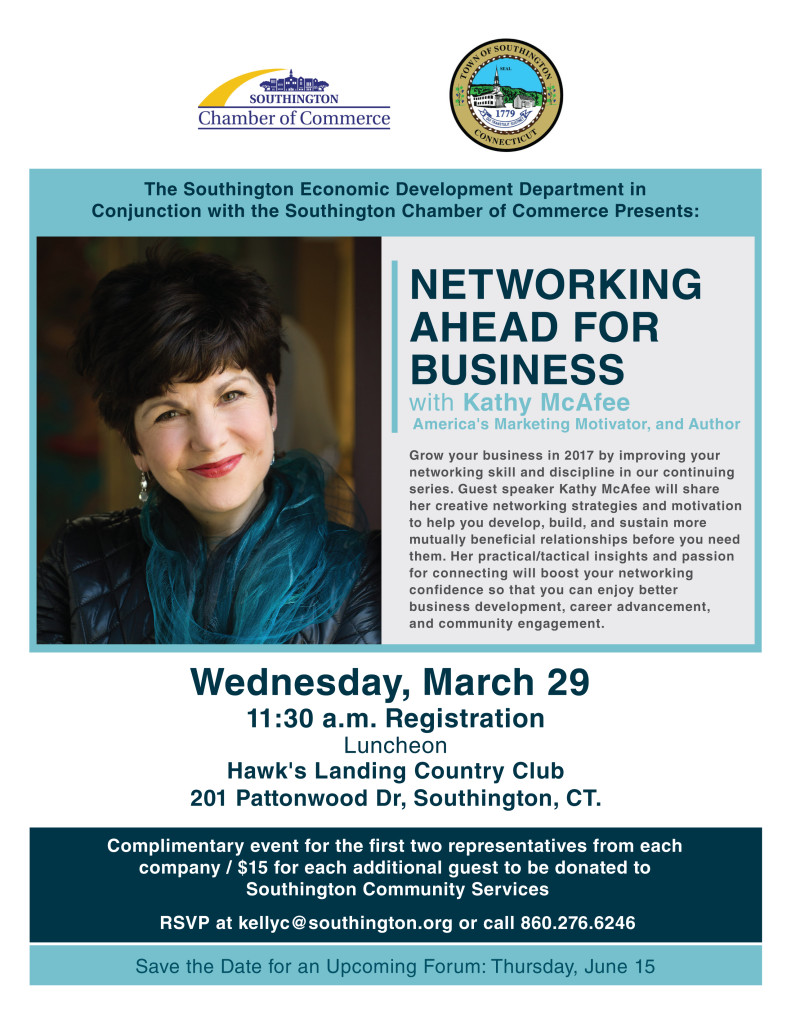 P1-V1-E2- Networking Ahead for Business - Flyer