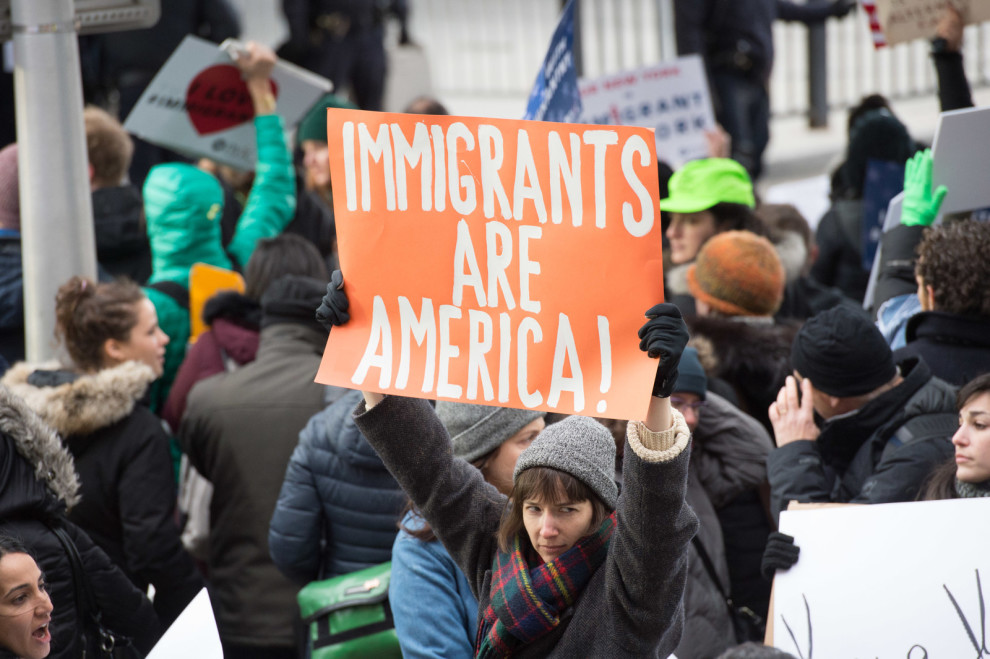 poster - Immigrants are America